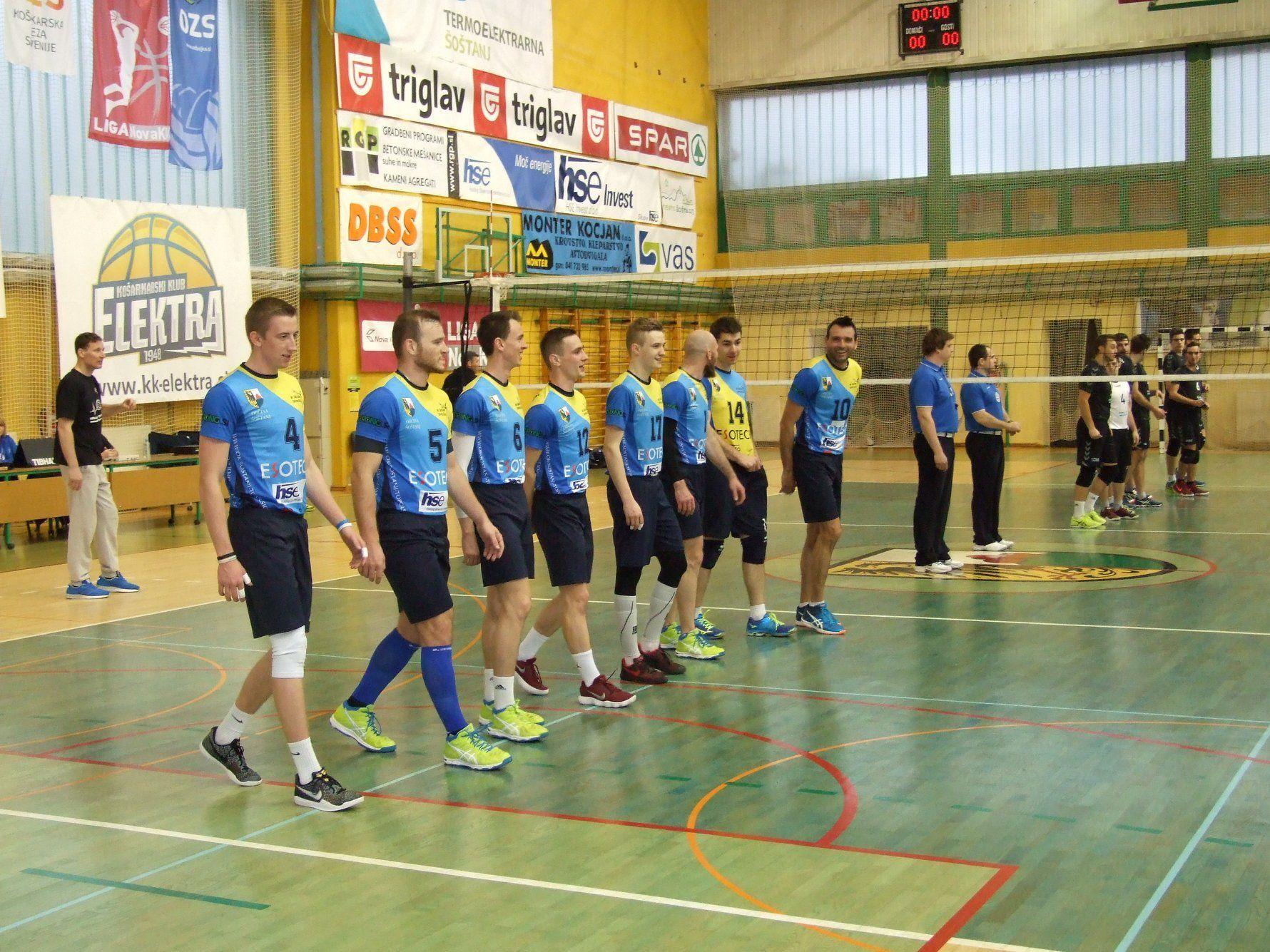 OK Šoštanj, Calcit Volley