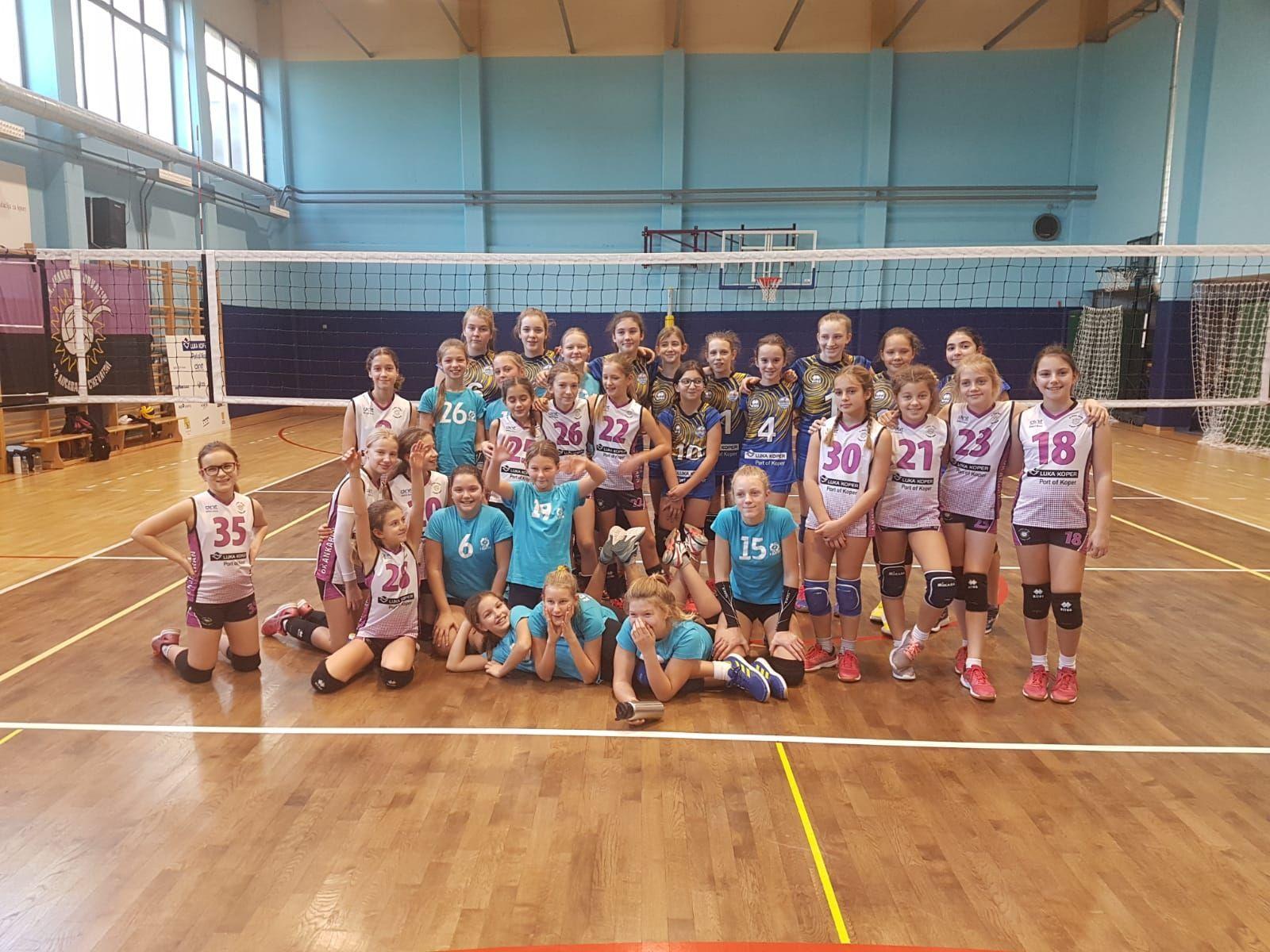 OK Luka Koper, Ljubljana Volley